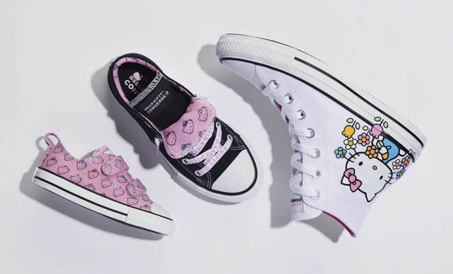 Converse x Hello Kitty: La edición limitada de zapatillas ya